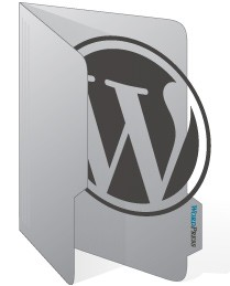 WordPress folder icon preview