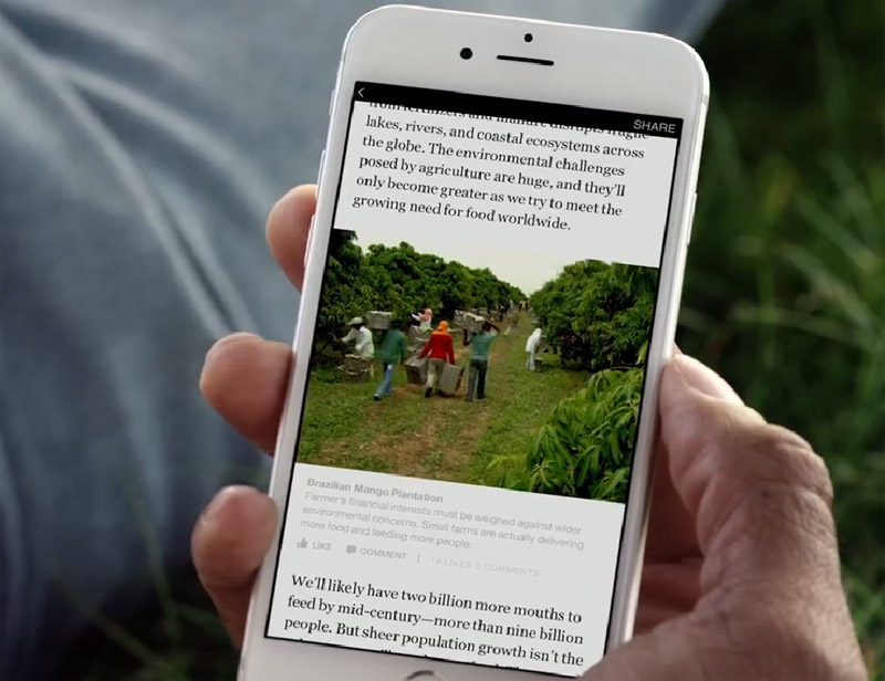Facebook Instant Articles captions